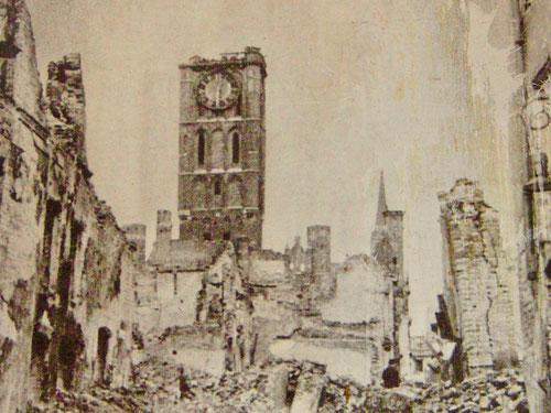 Ende März 1945 wurde Danzig von der roten Armee zerstört und die Einwohner vertrieben