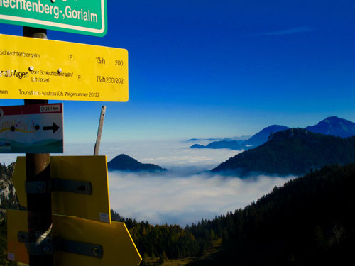Grandioses Bergpanorama unterhalb der Steinlingalm