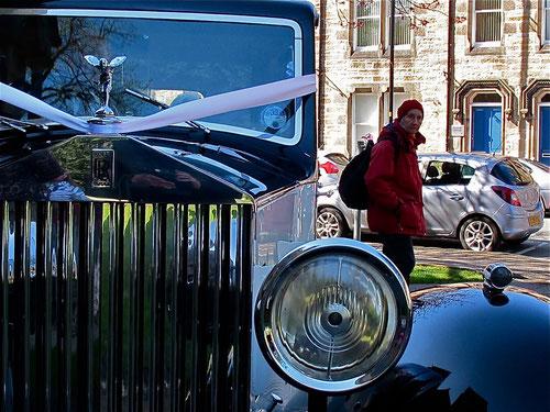 Rolls-Royce - Statursymbol aus verganenen Zeiten - heute ein beliebtes Hochzeit-Auto