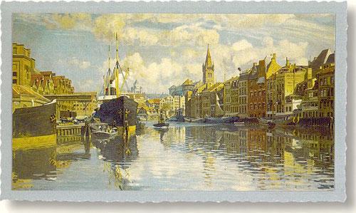 Vor-Kriegs-Bild des ostpreussischen Königsberg