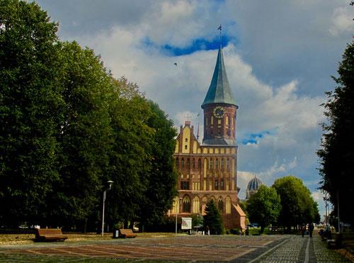 die notdürftig renovierte Marien-Kathedrale