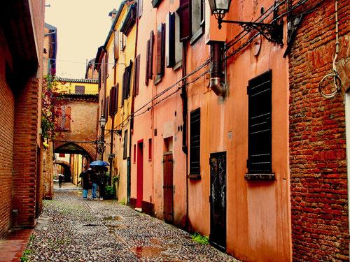die Nebenstrassen in der Altstadt, eng und persönlich