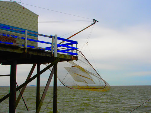 eine traditionelle Fangform, bei der auch Touristen dabei sein können