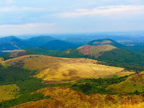 die Auvergne - ein Wander- und Trekkinggebiet der Superlative
