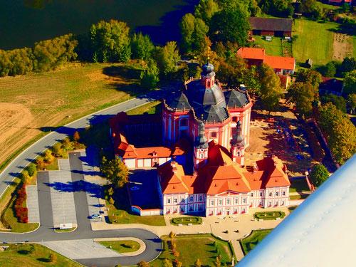 das Kloster Maria-Himmelfahrt, von oben noch schöner