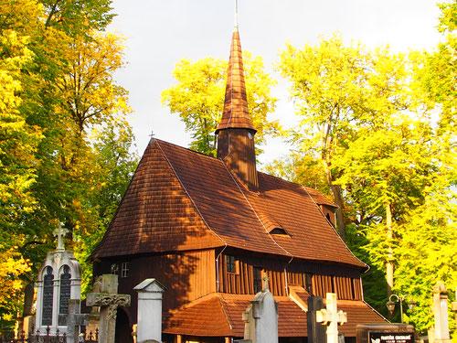 äusserlich eine schlichte Kapelle, innen ein Kleinod