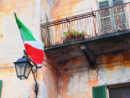 auf unserer Radreise mit den Kindern begann hier für uns Italien