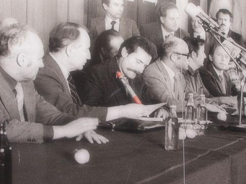 Lech Wales, der geniale Arbeiter-Führer war am Ziel