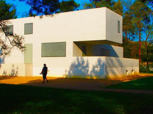 die sog. Meister-Häuser, dieses gehörte dem Lehrer Kandinski