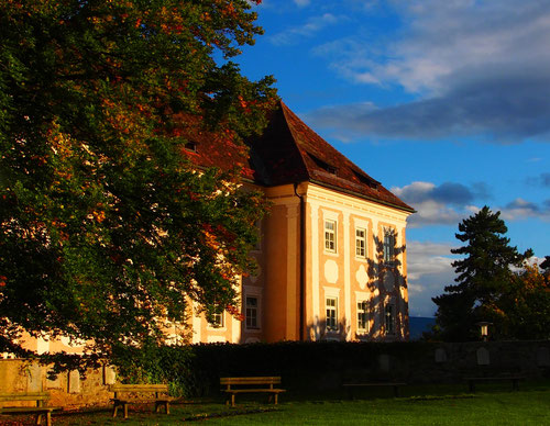 der ehemalige Schlossbau von Piber