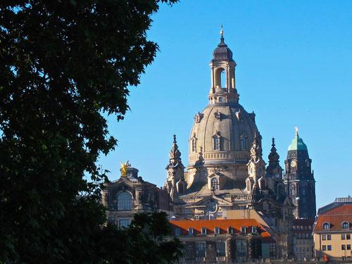 wunderbar der Blick auf die Frauenkirche