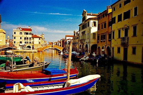 ein stimmungsvolles Motiv am Haupt-Kanal von Chioggia