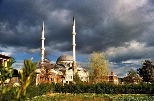 majestätisch und beeindruckend die Moschee von Yozgat