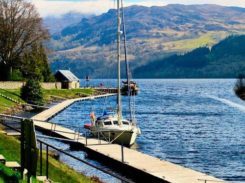 Verbindungskanal zum Loch Lochy
