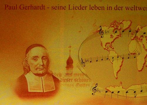 nach einer Gastpredigt wurde Gerhardt 1668 Pfarrer von Lübben