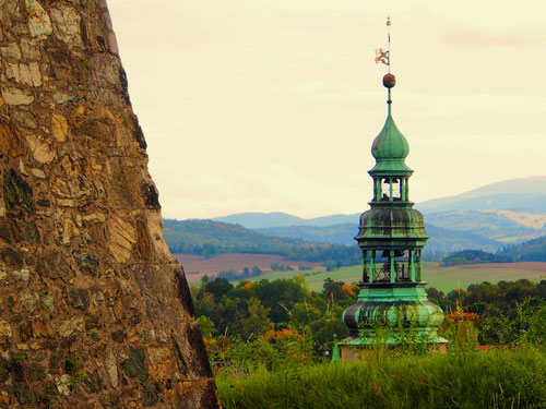 die Festung kontrollierte das Umland in idealer Form