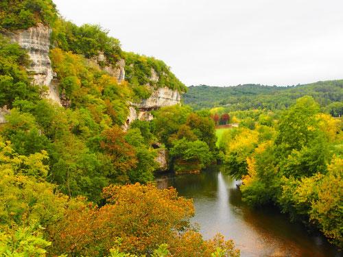 eine Aussicht fast wie in der schwäbischen Alb - am Donau-Durchbruch