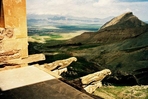 von den Frauen-Gemächern aus konnte man das ganze Tal überblicken