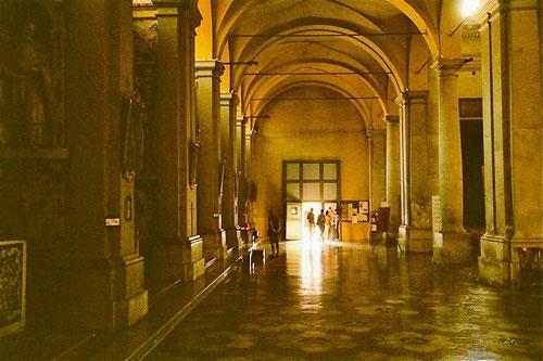 die Rathaus-Halle in Ravenna