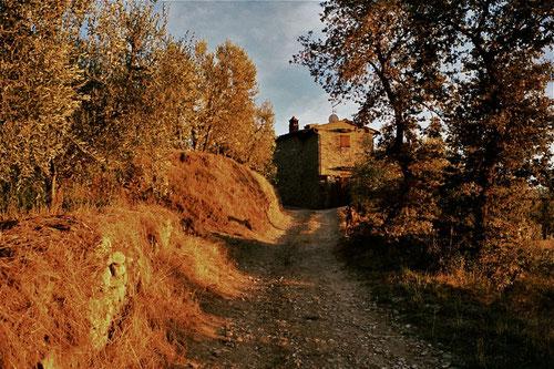 wunderschöne Abendstimmung am Castello de Pierle