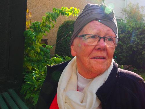 Frau Harmsen aus Meiningen erklärte uns detailliert die schwierigen Verhältnisse in der früheren DDR