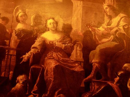 zu sehen sind fantastische Bild-Werke des Barocks