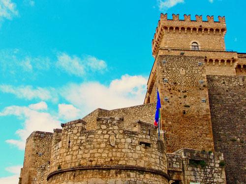 die Burganlage ist umfangreich renoviert