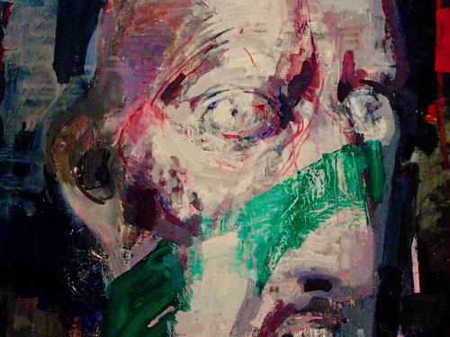 eindringliches Männerporträt von Arno Rink