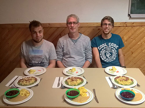 Manu, Oli und Philipp