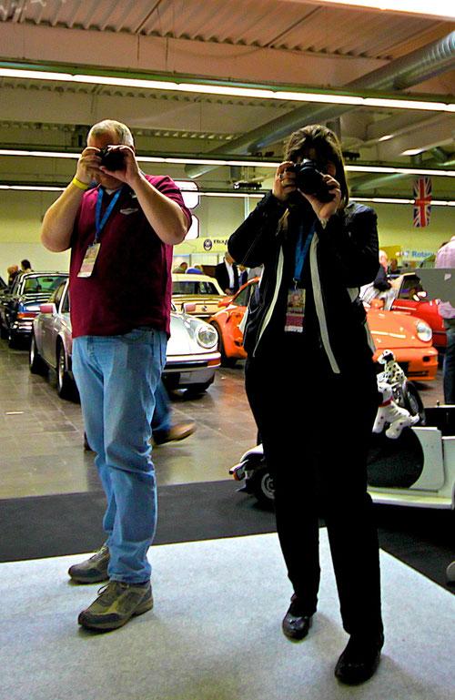 """Geli & Norbert versuchen diese"""" Auszeit """" fotografisch festzuhalten!"""