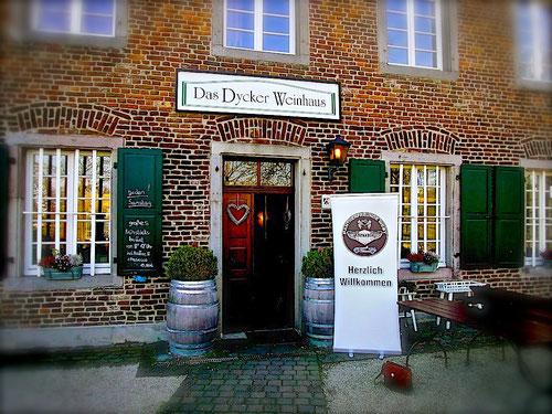 Das Dycker Weinhaus am Schloss Dyck