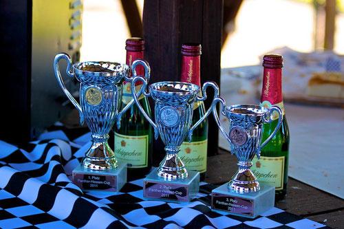 Die Pokale:Panther-Hessen-Cup 2011!