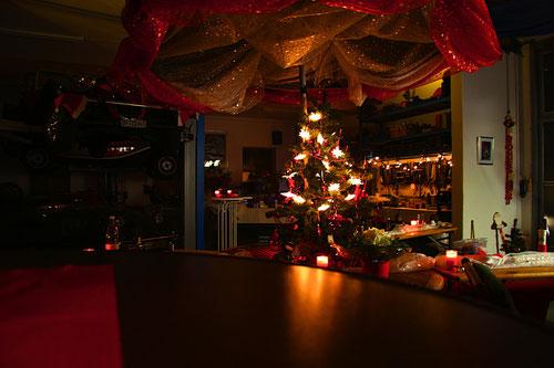 Mitternacht ist vorbei.........die letzten Kerzen werden gelöscht!