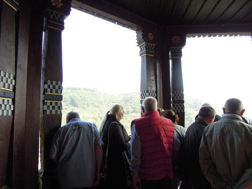 Balkon & Terrasse........hab ich auch, meinte Bernd! Ein Ort zum Heiraten meinte Susanne!