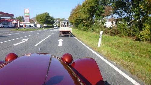 Der hatte kein 25 er Schild und fuhr deshalb auch nur mit 3 KM /h !