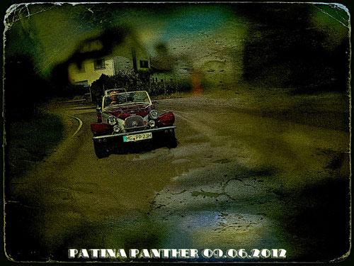 ...dann lief er wieder.....mein Patina Panther! Originalbild ist übrigens von Achim.....die Patina hab ich beigefügt!