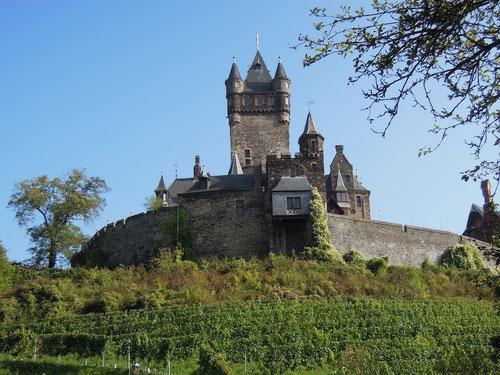 Endstation des Zickenheiners:  Die Burg Cochem!
