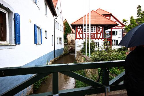 Grosskarlbach Mühle....es regnet!