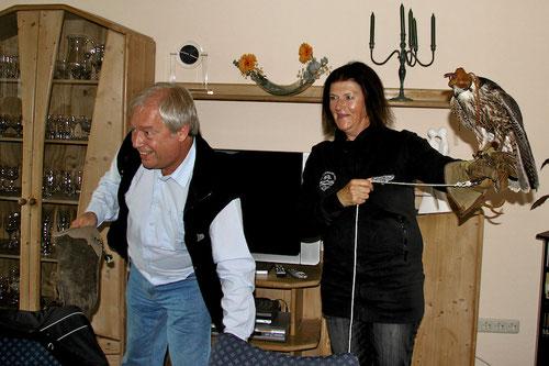 Ilona hat alle Ängste abgelegt.........ist abgehärtet, durch Günters Fahrweise!