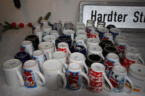 """Jeder hat natürlich seine eigene Tasse aus der Manufaktur """"Villeroy & Herpes"""""""
