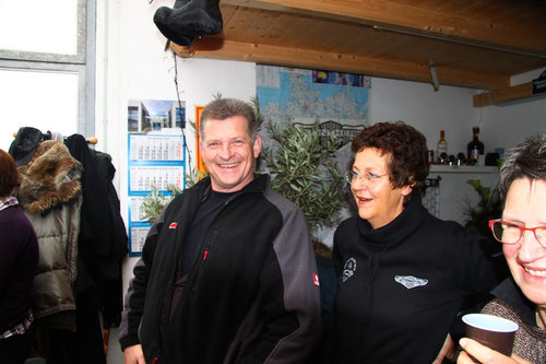 Große Freude auch  bei Ruda, Ulli & Dietmar!