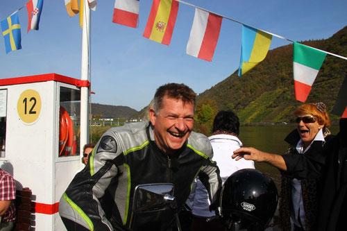 Überraschung :Christiane & Dietmar aus Essen besuchten uns mit Ihren Mopeds!