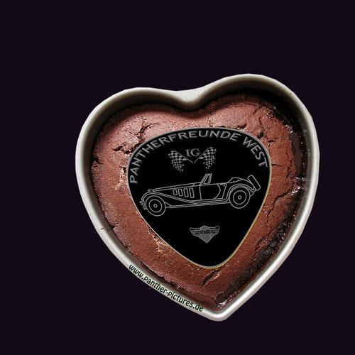 Unser Werbematerial: für Pantherfreunde,die auch schwerverdauliches verkraften, gibt es bei uns am Niederrhein die herzhafte ..............................Pantherlebertrüffellebkuchenpastete !
