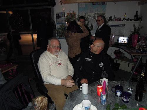 Pantherurgesteine & dicke Freunde: Hans & Roger