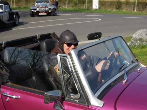Günther im Auto von Roger
