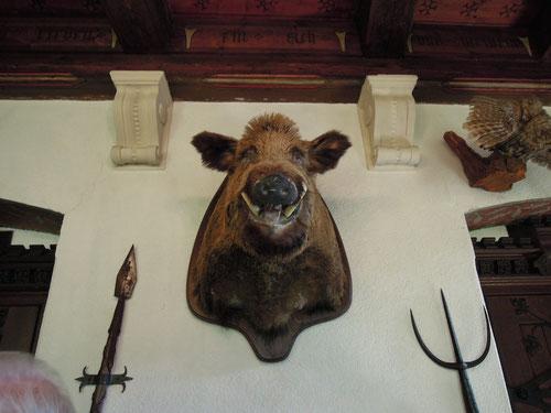 Ich als Vegetarier fand die Wildgerichte einfach ekelig! Kraut und Rüben waren mir da lieber!