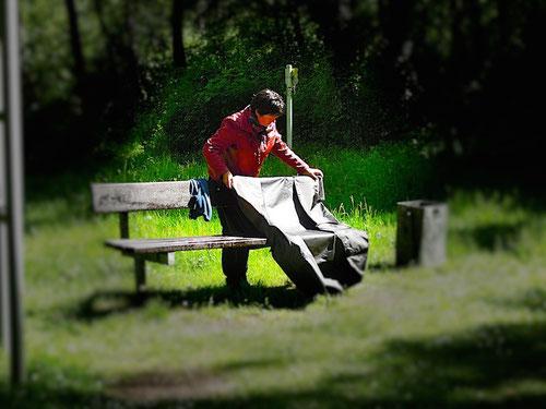 Nix Picknick..........Trockenlegung unsere Panther ist angesagt!