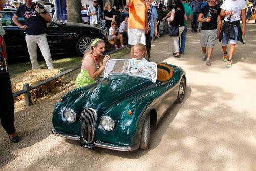 Die Schönste- Im Little-Jaguar MK