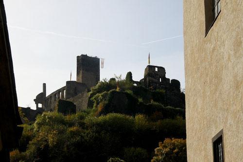 die Burg über Beilstein! Der beste Blick zur Mosel!