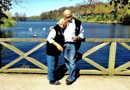 Sigrid & Günter wie man sie kennt, fast immer fröhlig,weltoffen und allzeit hilfsbereit